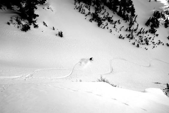 Skiing Timpanogos