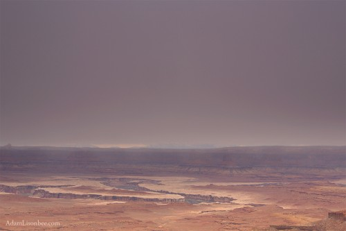 Canyonlands Snow Storm